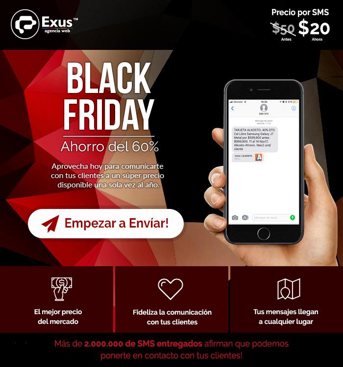 SMS Black Friday