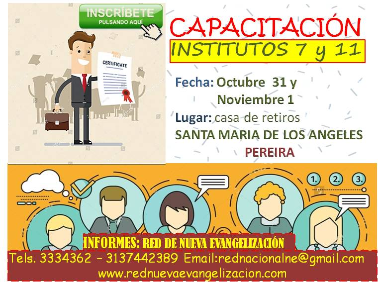 invitación institutos en Pereira