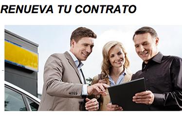 Renovar contrato de Chevystar