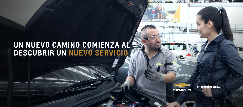 Servicio Personalizado, talleres Chevrolet Caminos en Risaralda, Quindío y Norte del Valle