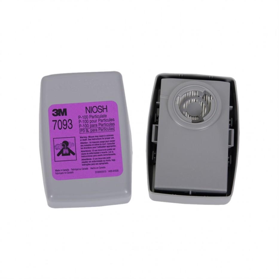 Respirador Media Cara 7502 + Filtros P100