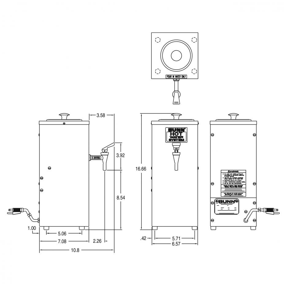 Calentador de Agua OHW