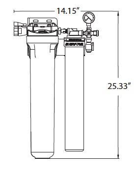 Filtro de Agua Coldrink I