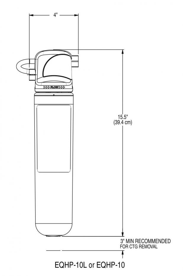 Filtro de Agua EQHP-10