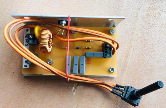 Tarjeta regulación calor PROBAT 110V