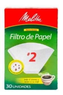 FILTROS PAPEL MELITTA NO 2