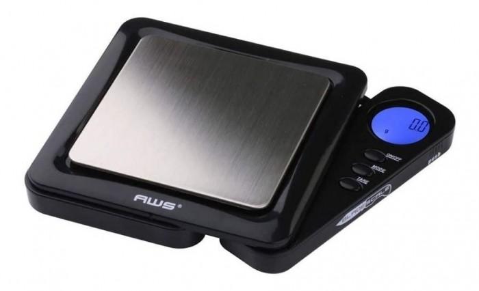 Balanza digital portátil cuadrada - 1000 g x 0,1 g.