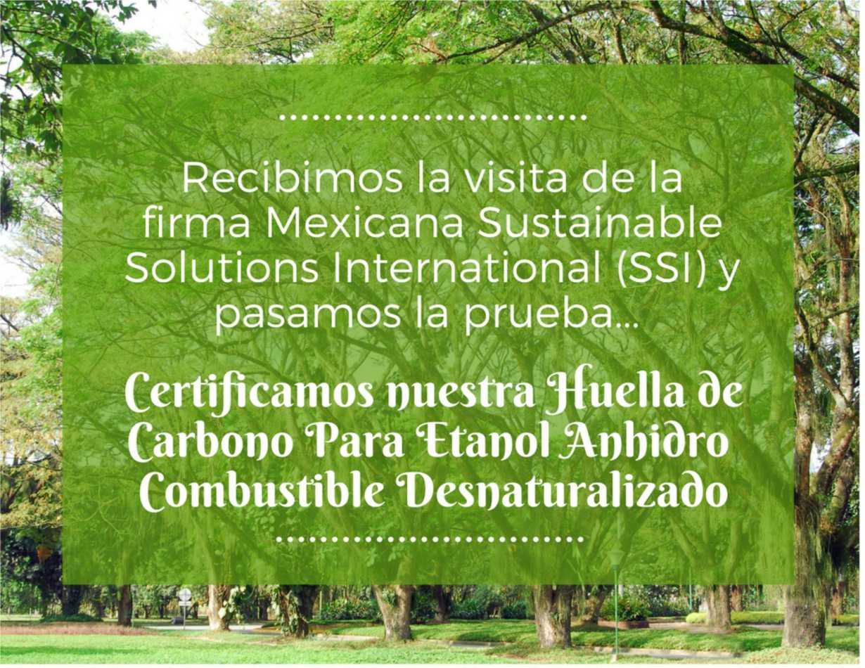 Certificación Huella de Carbono