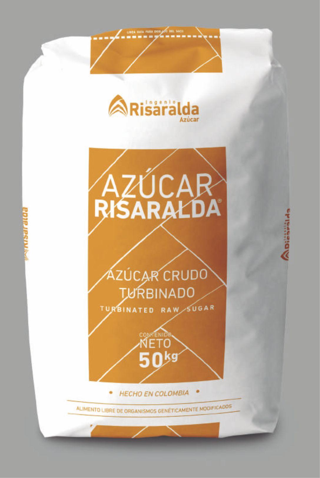 AZÚCAR CRUDO TURBINADO 50 Kg