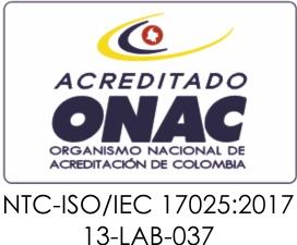Acreditación del Laboratorio de Bio-Destilería LOGO ONAC