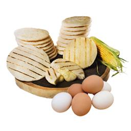 Huevos y Arepas