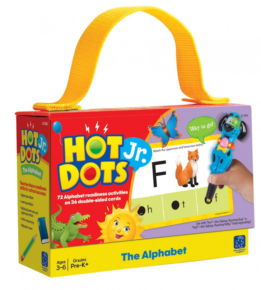 HOT DOTS® JR. CARDS - THE ALPHABET