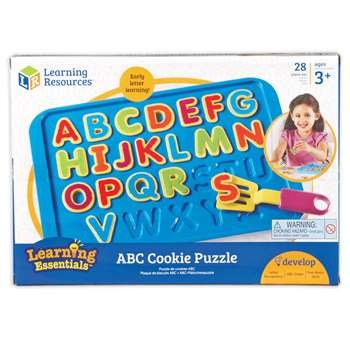 ABC COOKIE PUZZLE  -  2016 NEW