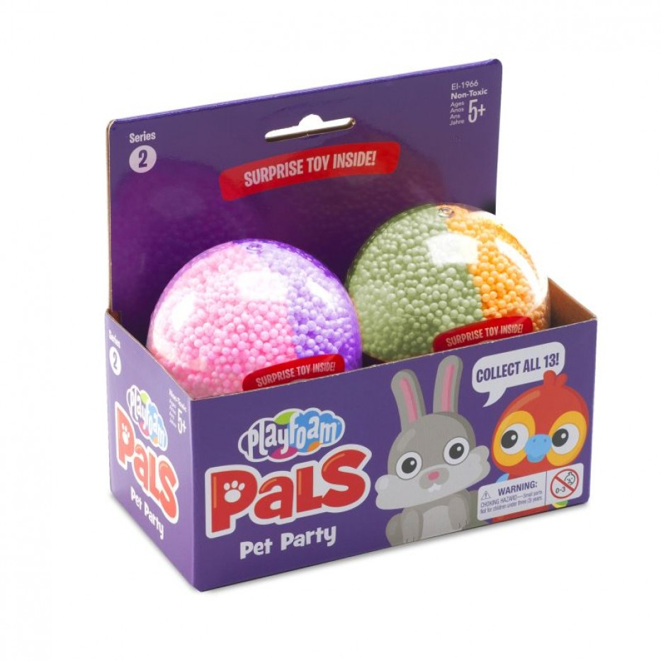 PLAYFOAM® PALS PET PARTY SERIES 2 (2-PACK)