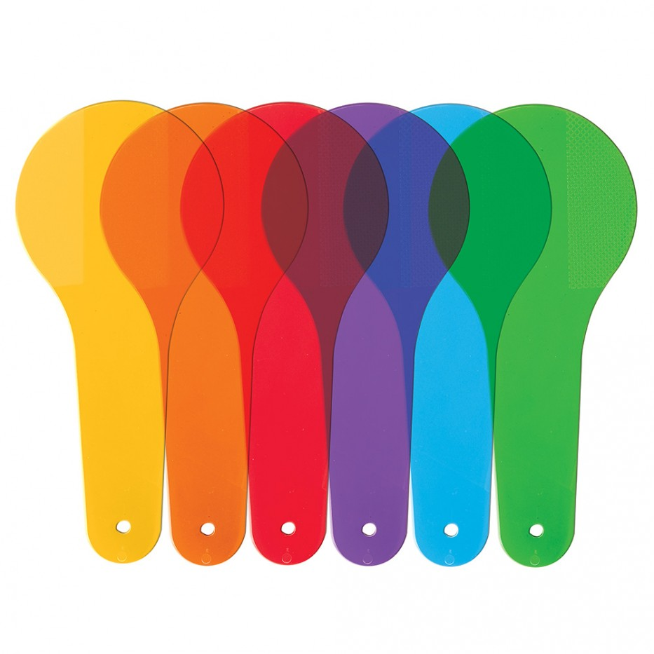 COLOR PADDLES (SET/18)