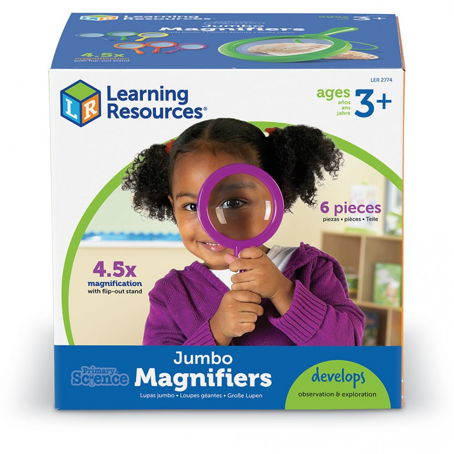JUMBO MAGNIFIER - SET OF 6