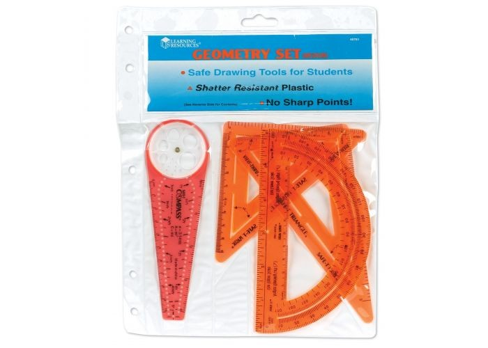 SAFE-T GEOMETRY SET, MEDIUM, 4 PIECE