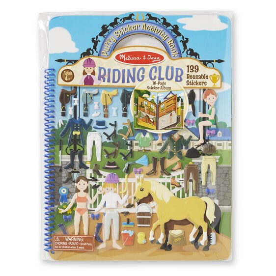 DELUXE PUFFY STICKER ALBUM RIDING CLUB