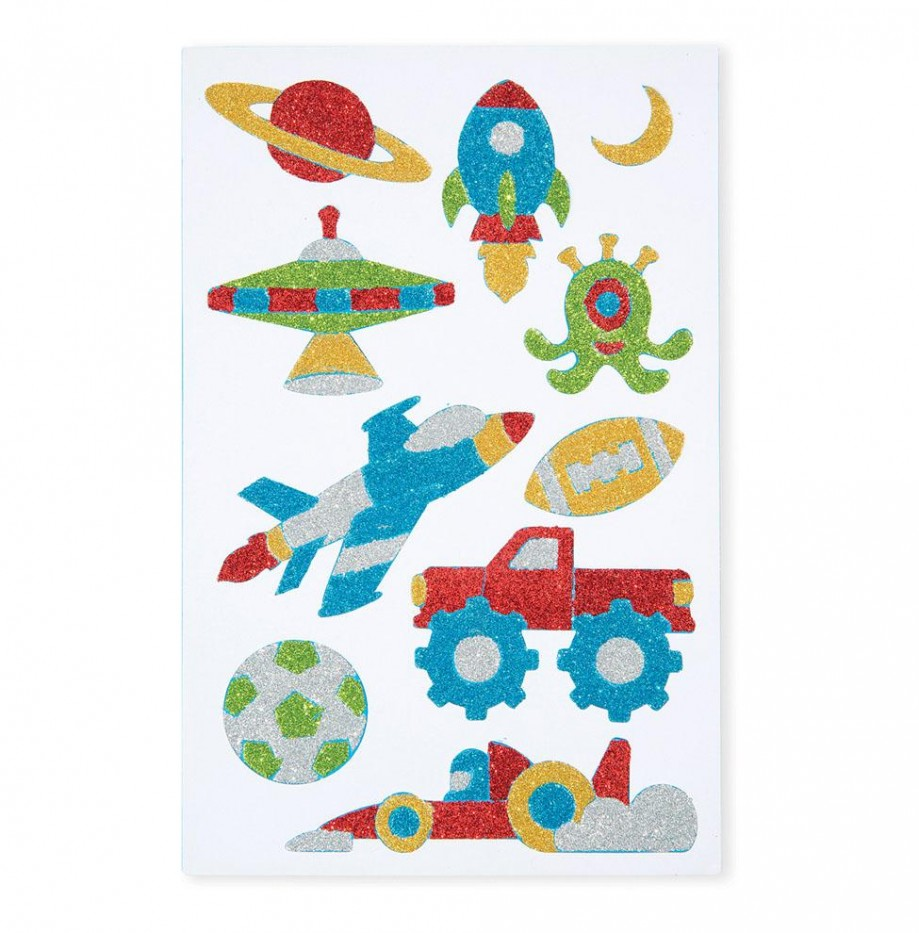 COOL CREATURES FOAM STICKERS