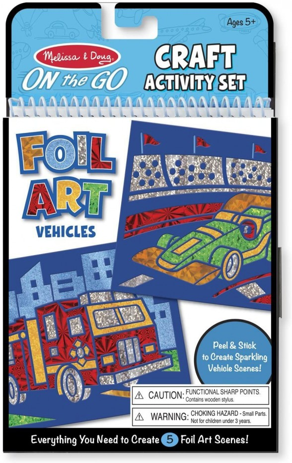 ON - THE - GO CRAFTS . FOIL ART VEHICLES