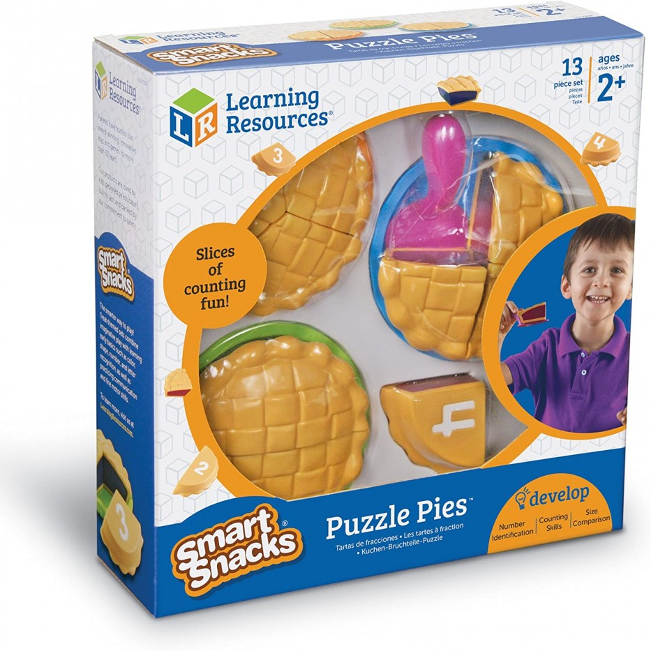 SMART SNACKS® PUZZLE PIES