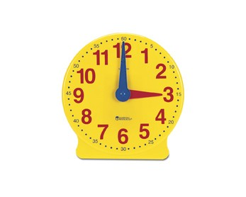 BIG TIME LEARNING CLOCK (12 HR)