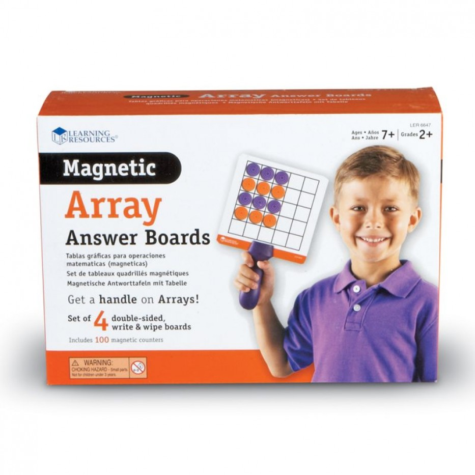 MAGNETIC ARRAY ANSWER BOARDS