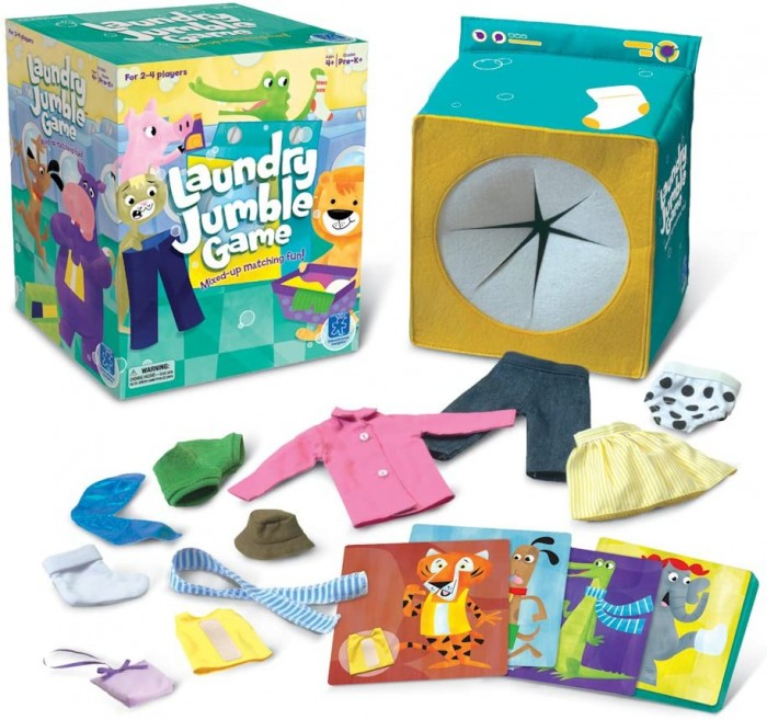 LAUNDRY JUMBLE TM GAME