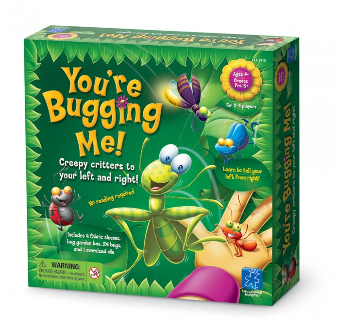 YOU'RE BUGGING ME! GAME