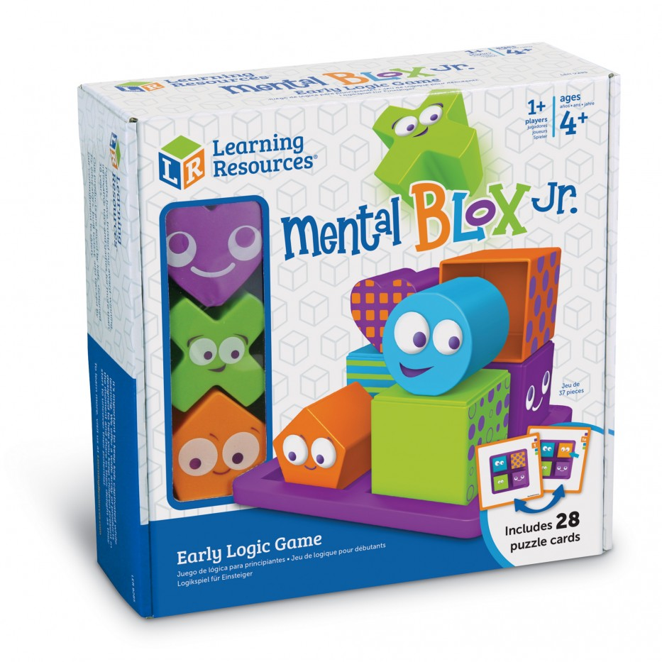 MENTAL BLOX JR. EARLY LOGIC GAME