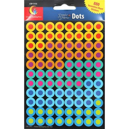 POPPIN' PATTERNS DOTS HOT