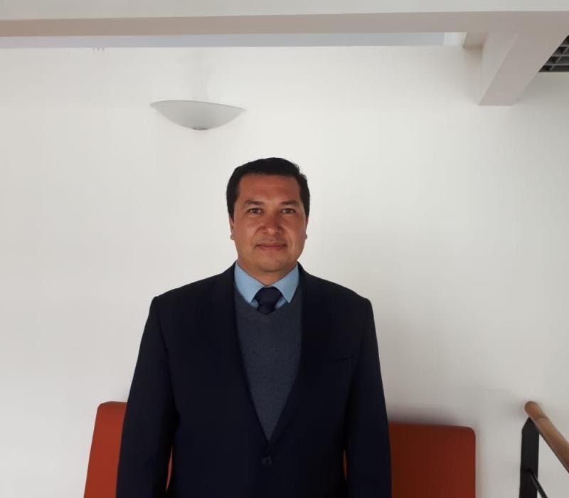 ASOCOPI president Harold Castañeda