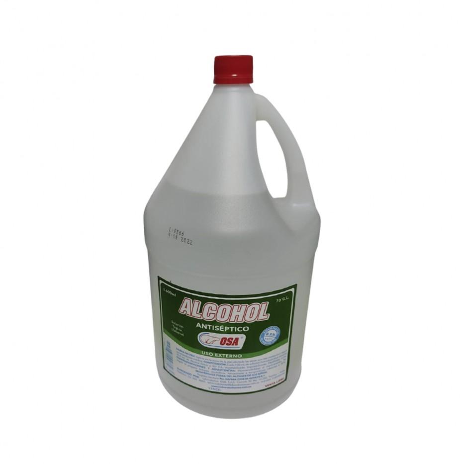 ALCOHOL ANTISEPTICO X 3.600ML OSA
