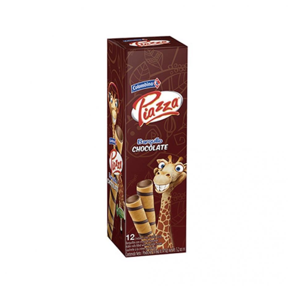 Barquillos Girafa Chocolate