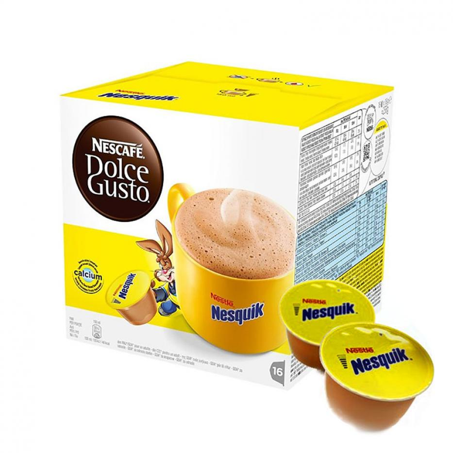 Chocolate Caliente Nesquik (Dolce Gusto)