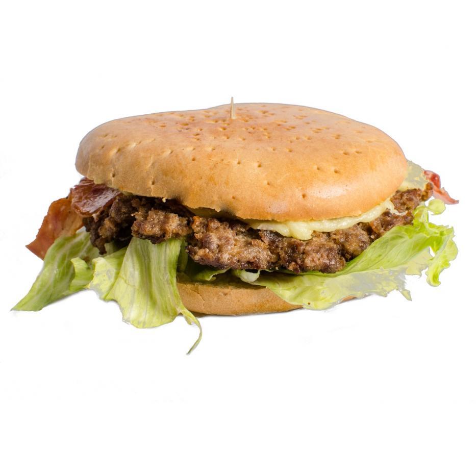 Hamburguesa con Tocineta