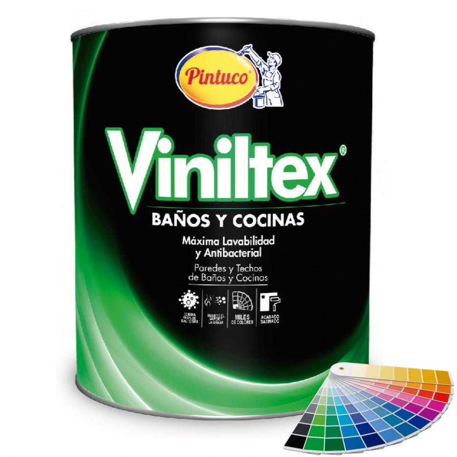 Pintura Viniltex Baños y cocinas/Tonalidades