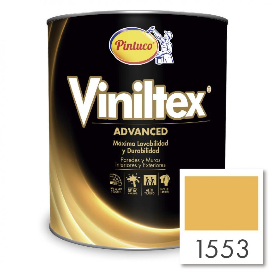 Viniltex Advanced Amarillo otoñal 1553