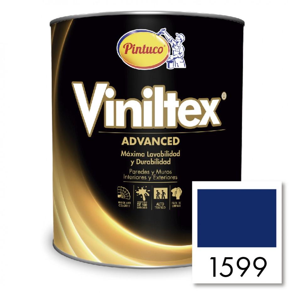Viniltex Advanced Azul mediterráneo 1599