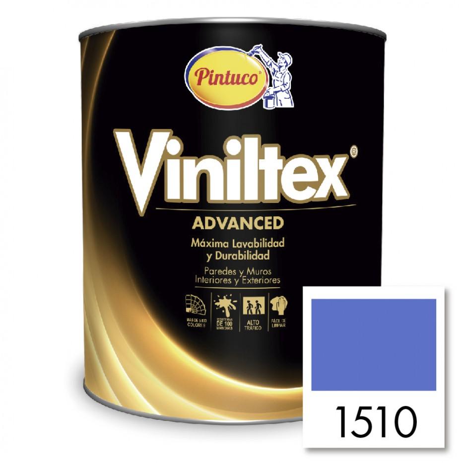 Viniltex Advanced Azul milano 1510
