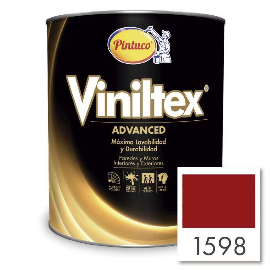 Vinitex Advanced Rojo atrevido 1598