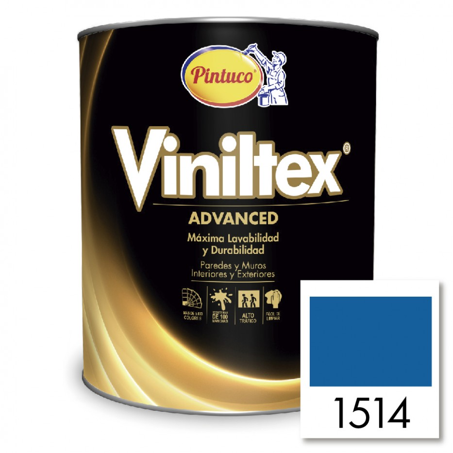 Viniltex Advanced Azul marino 1514