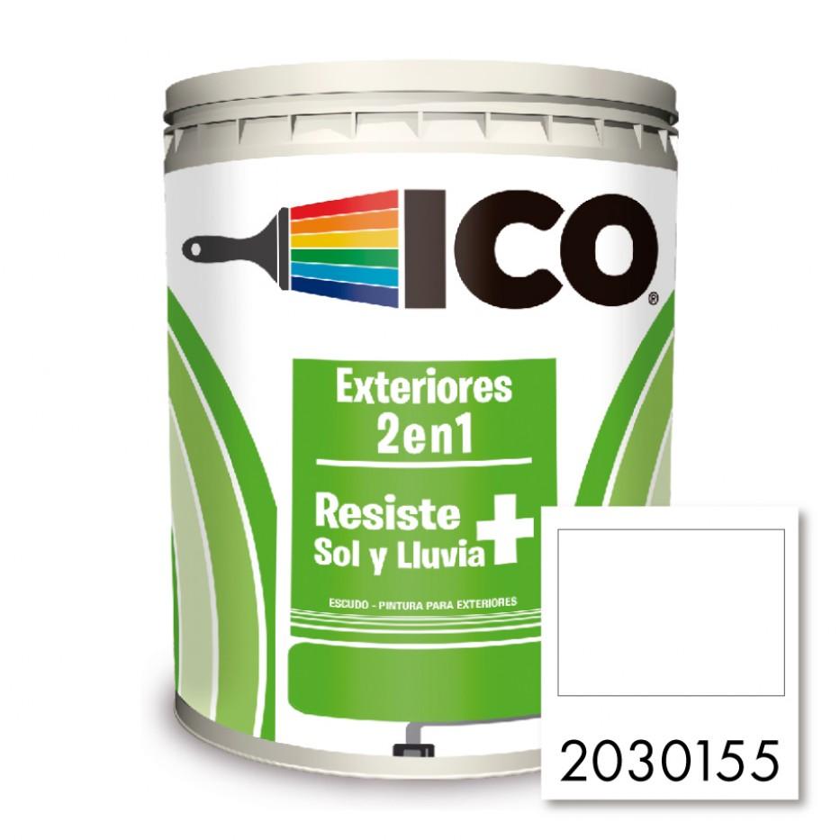 Ico Exteriores 2 en 1 Escudo Blanco 2030155
