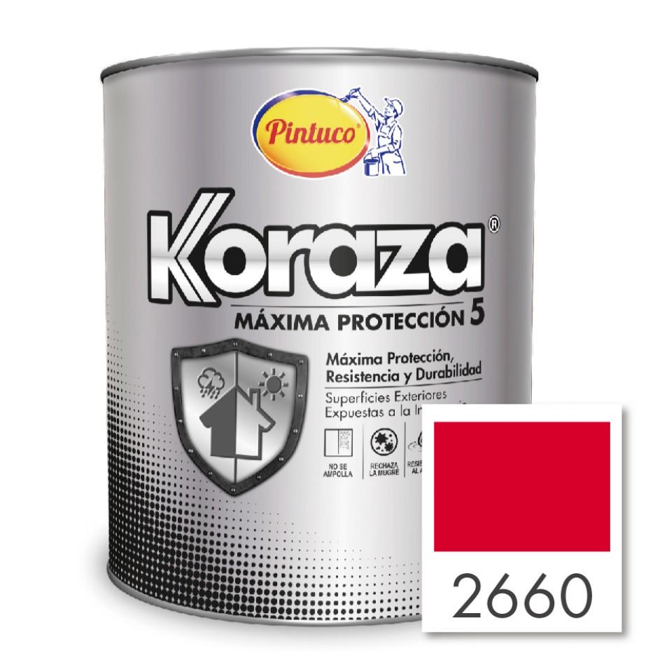 Pintura Koraza Rojo 2660