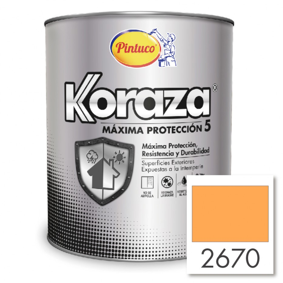 Koraza Oro mate 2670
