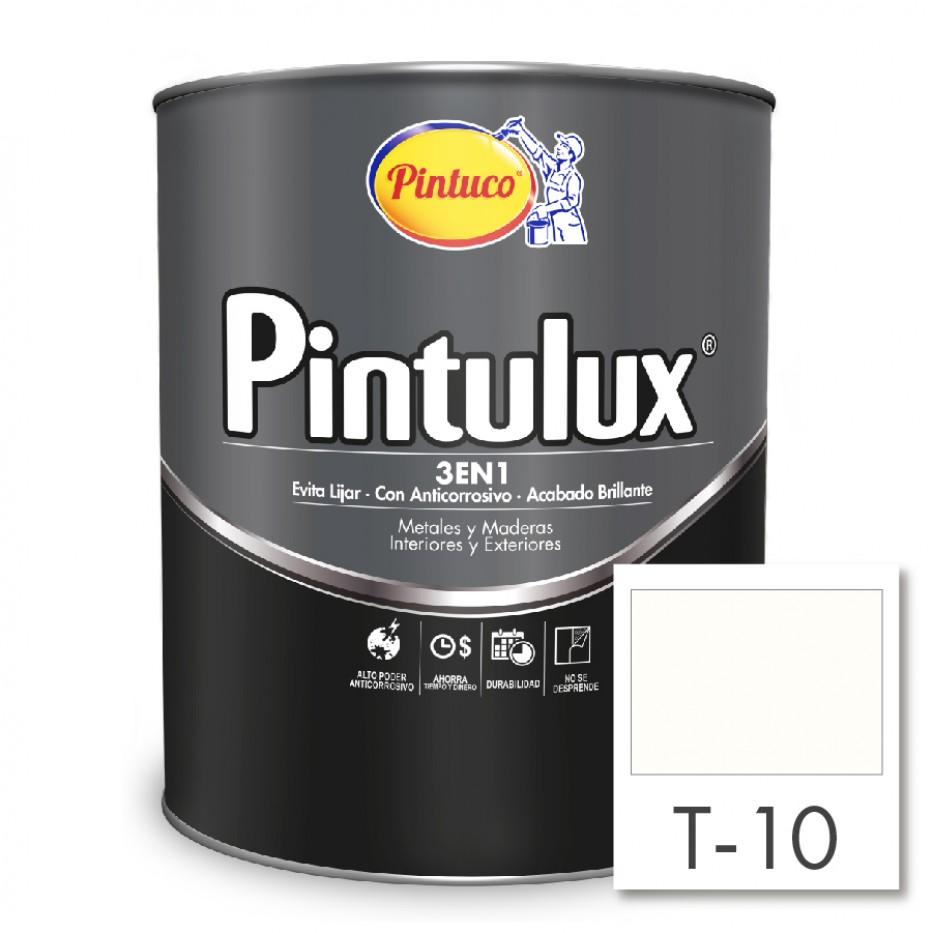 Esmalte Pintulux 3 en 1  Blanco Mate 10