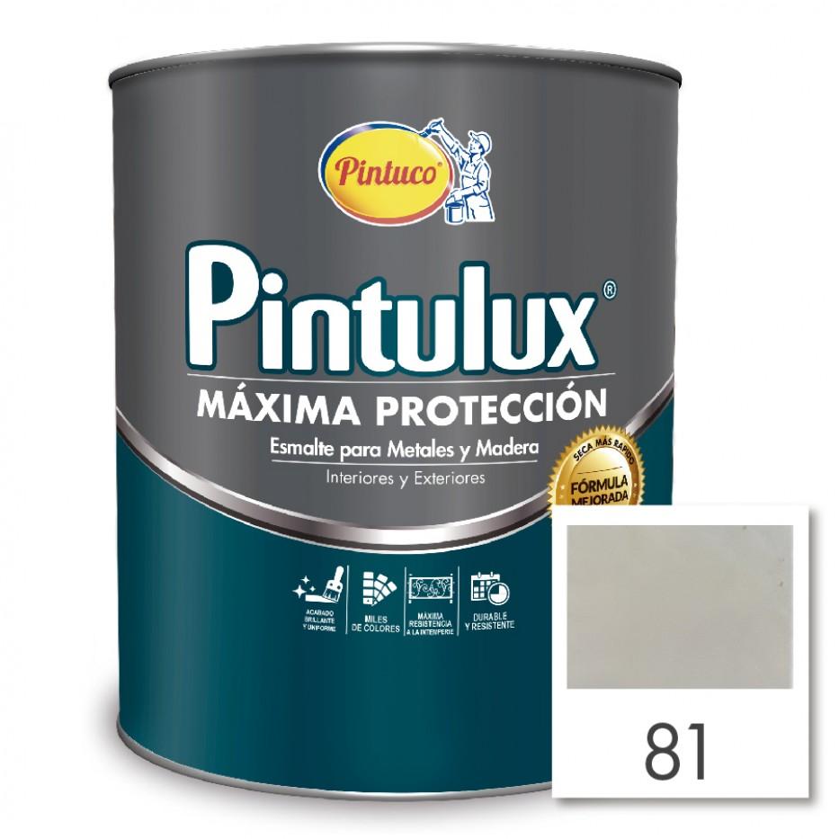 Esmalte Pintulux Máxima Protección Plateado 81