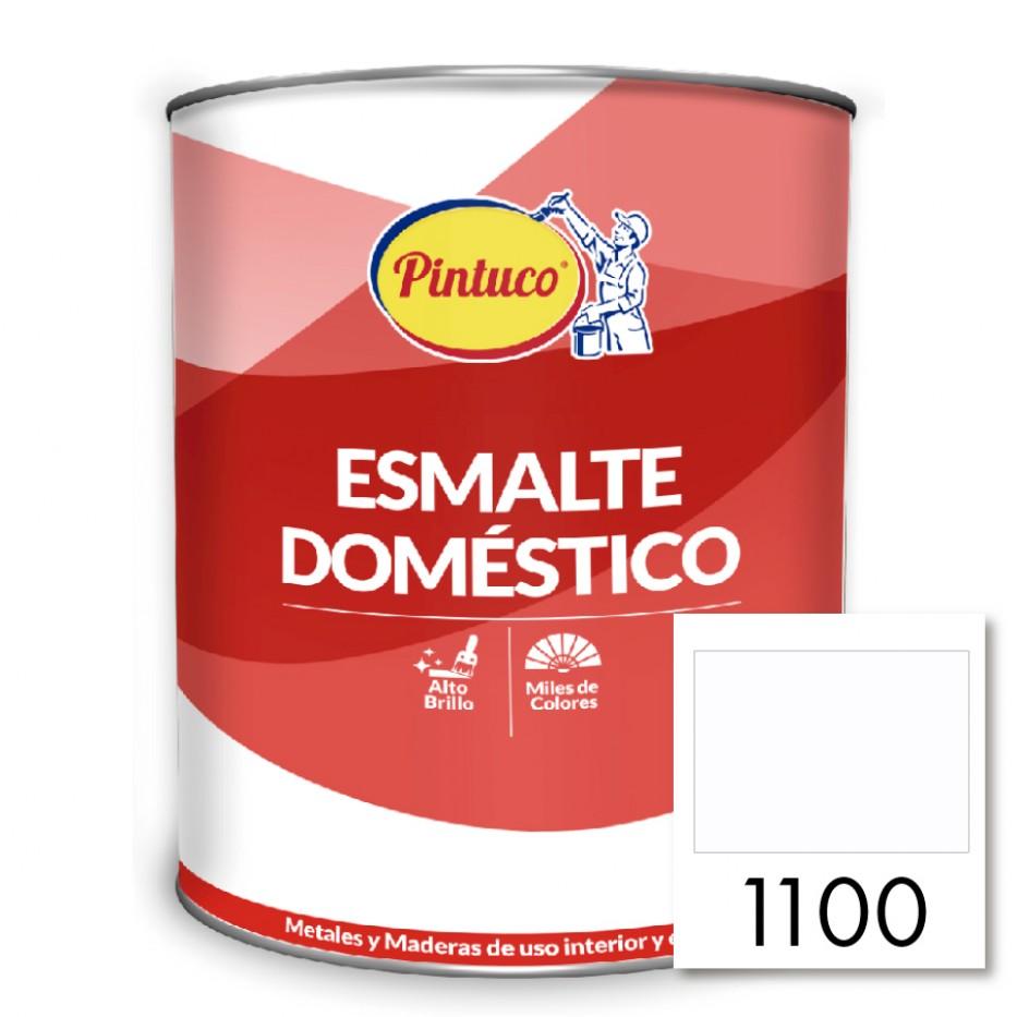 Esmalte Doméstico Blanco  semi-brillante 1100