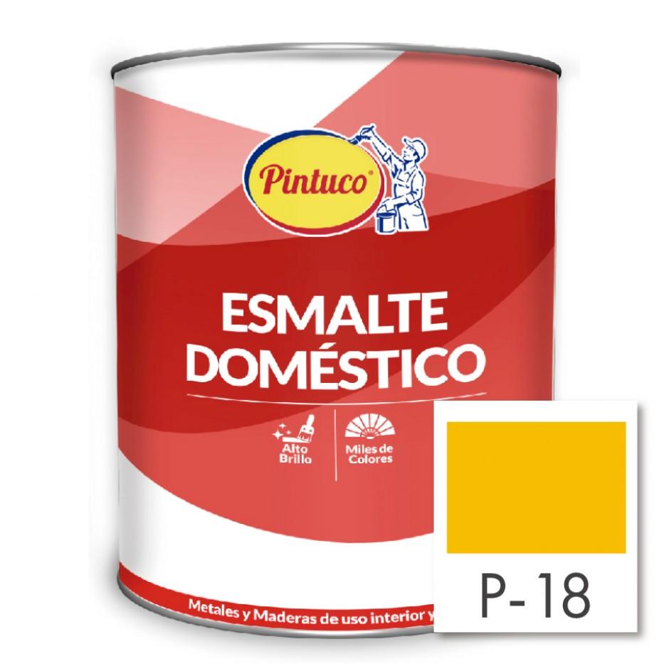 Esmalte Doméstico Amarillo P-18