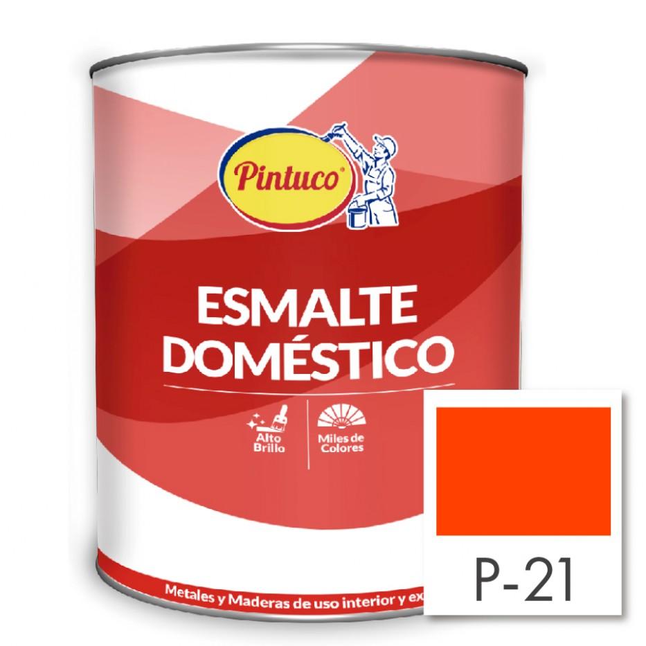 Esmalte Doméstico Naranja P-21